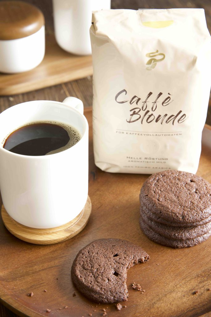 Coffee Cookies mit Tchibo Caffè Blonde