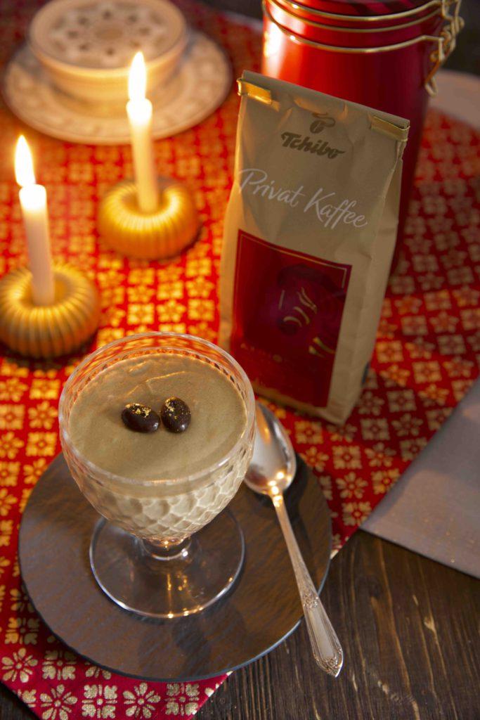 Kaffee Mousse mit Tchibo Privat Kaffee Rarität des Jahres 2018 Äthiopien Aricha