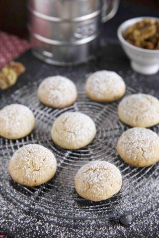 Kourabiedes - Walnuss Kekse