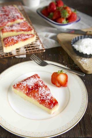Erdbeer Maracuja Tarte