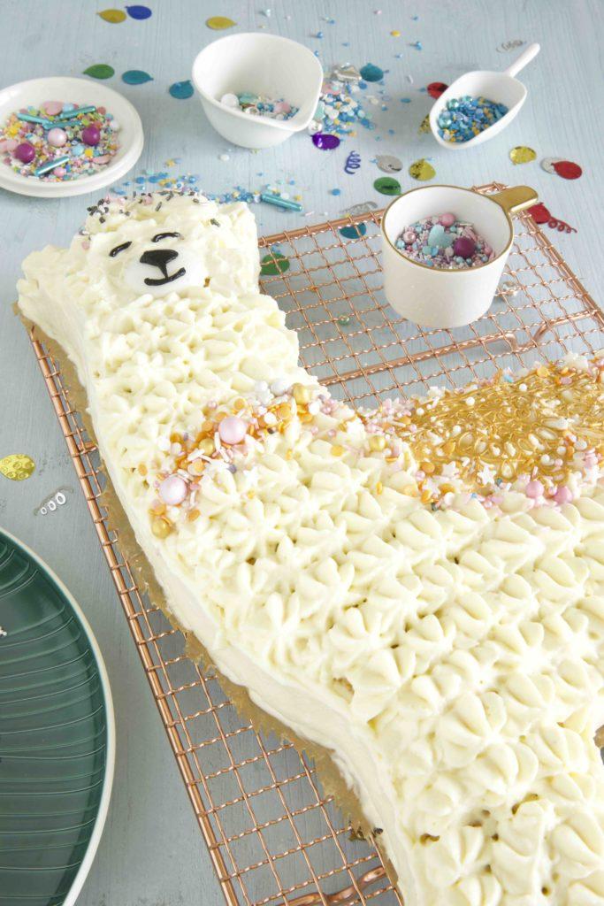 Zitronen Mascarpone Torte Lama Torte