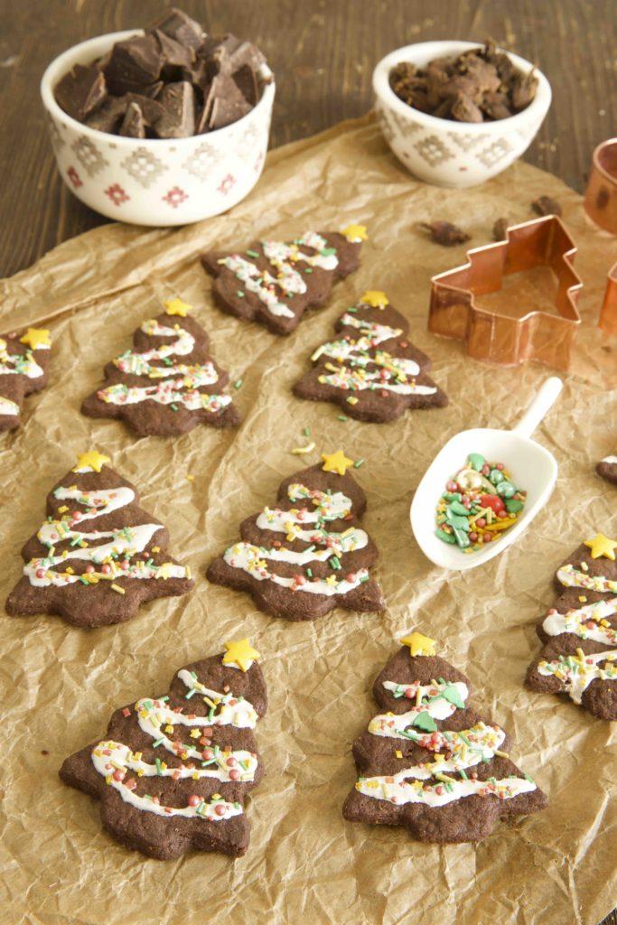 Schokoladen Kardamom Plätzchen