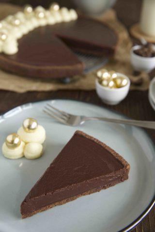 Schokoladen Kardamom Tarte