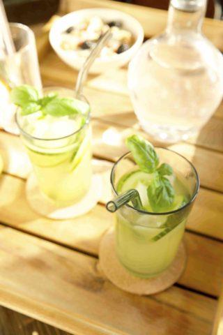 Gurken Limetten Limonade