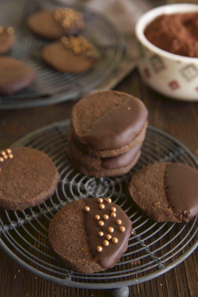 Schokoladen Plätzchen mit Kardamom