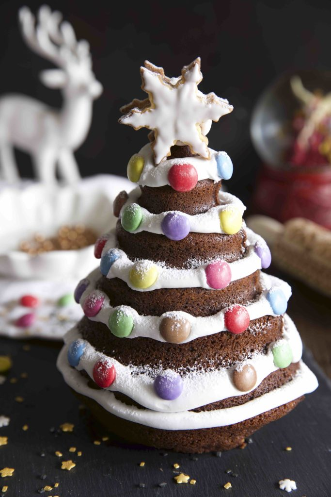 Lebkuchen Tannenbaum Rührkuchen